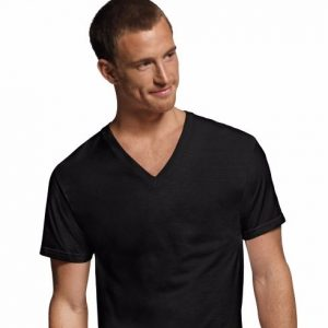 Hanes Men's ComfortSoft Dyed V-Neck Undershirt